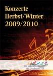 Konzertprogramm der Musikschule des Landkreises Hof für Herbst/Winter 2009/2010